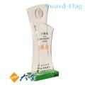 WY-127 水晶獎座+金屬徽章(特惠價)