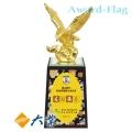FN-122 鴻圖大展(金箔雕塑) 獎座